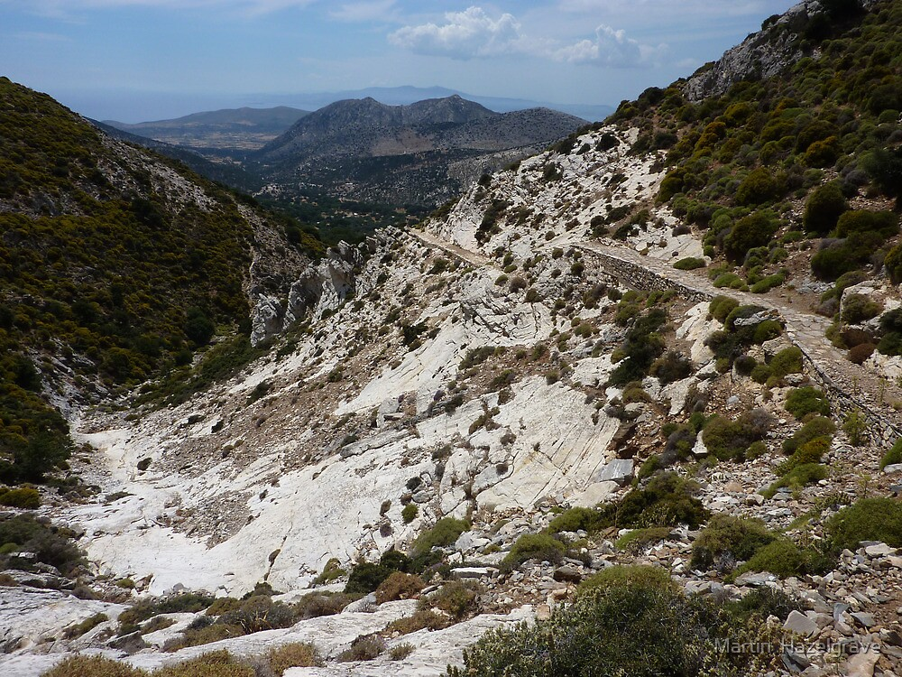 Mountain track by Martin  Hazelgrave