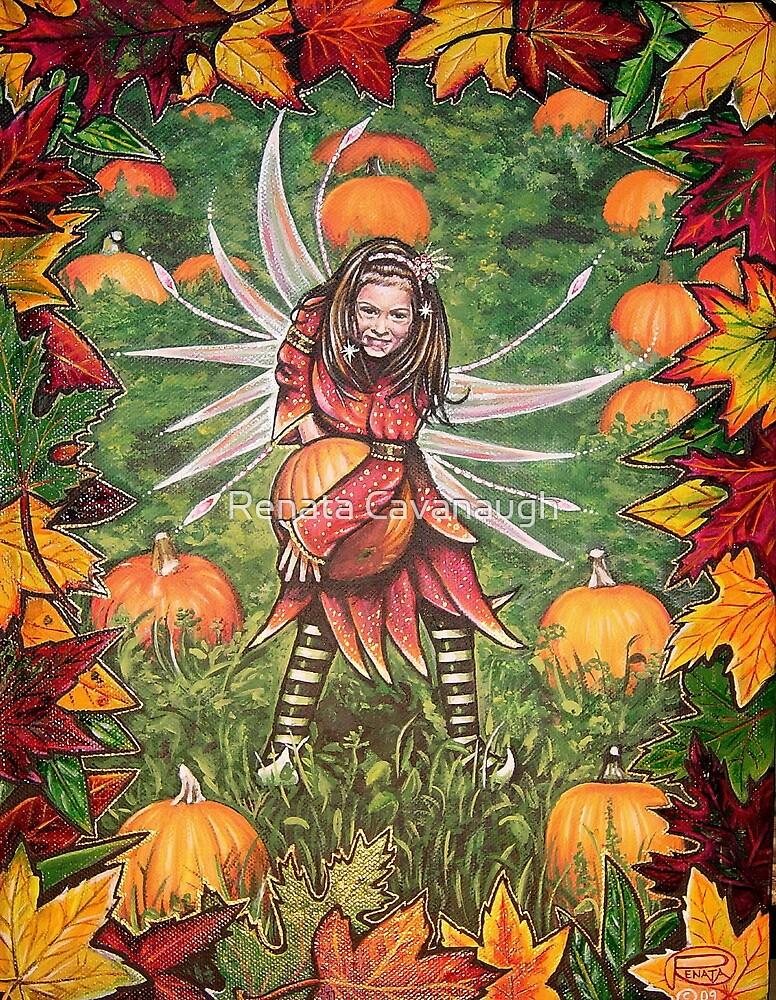 Pumpkin Patch by Renata Cavanaugh