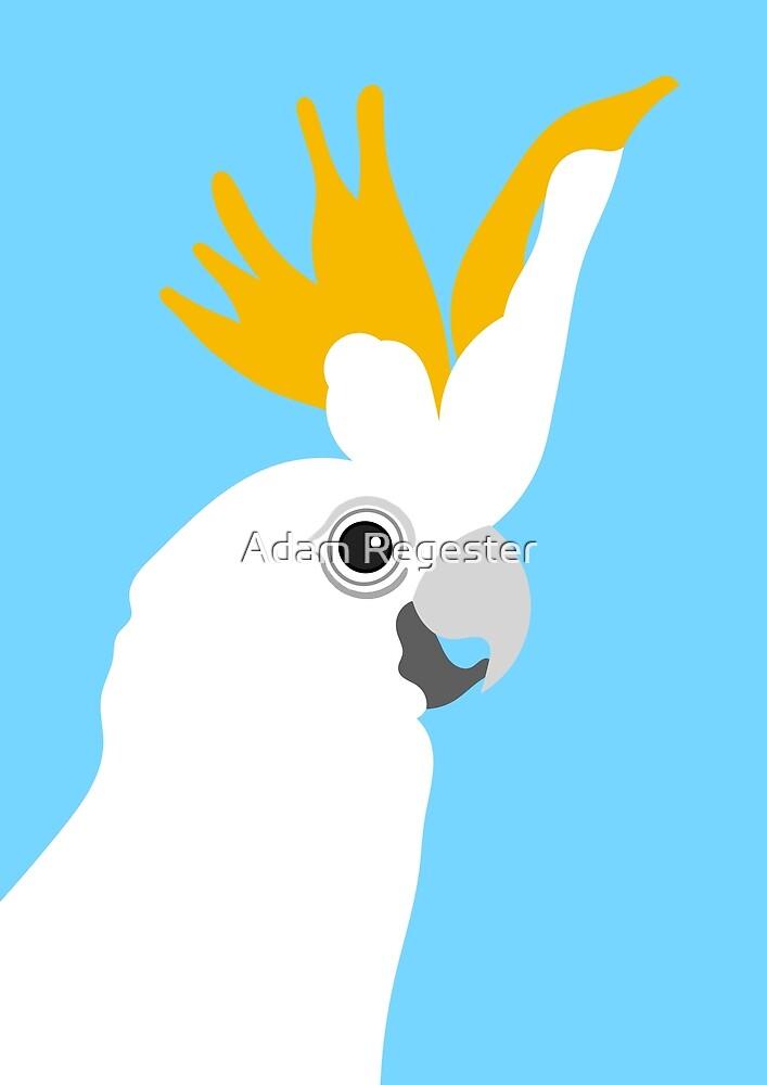Cockatoo Bird Portrait by Adam Regester