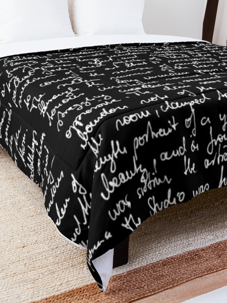 Alternate view of The Picture of Dorian Gray (Beginning of Ch. 1) Comforter