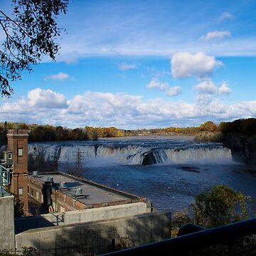 Cohoes Falls Cohoes New York by ValeriesGallery