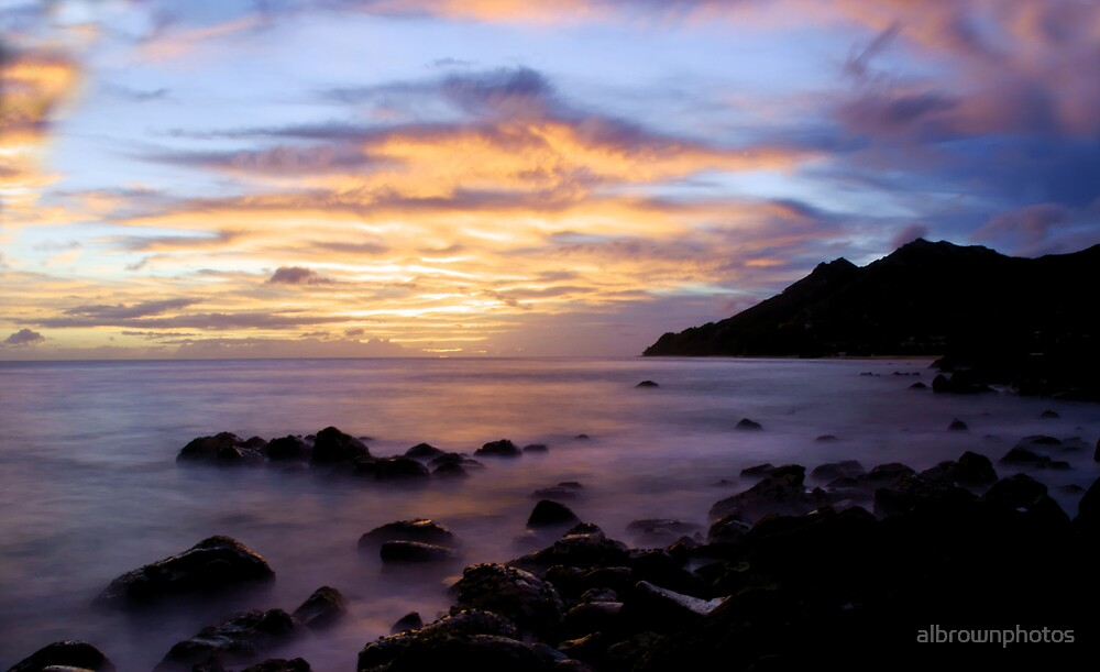 Black Point Sunset by albrownphotos