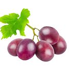 Red grapes by 6hands
