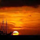 Fiery Sunset by AlphaMale912