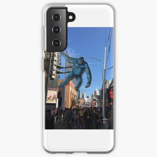 #halloween #costume #halloweencostume #city #group #people #sculpture #street #statue #tourist #architecture #tourism #museum #colorimage #builtstructure #townsquare #business #retail #large Samsung Galaxy Soft Case