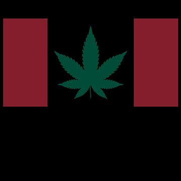 Canadian Flag Weed by TheFlying6
