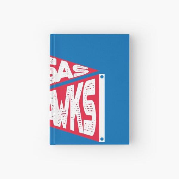 KANSAS GO HAWKS Hardcover Journal