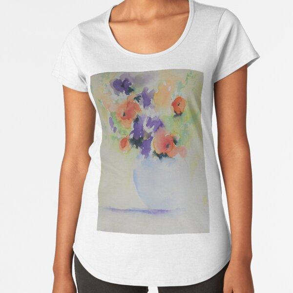 Fleurs de printemps T-shirt premium échancré