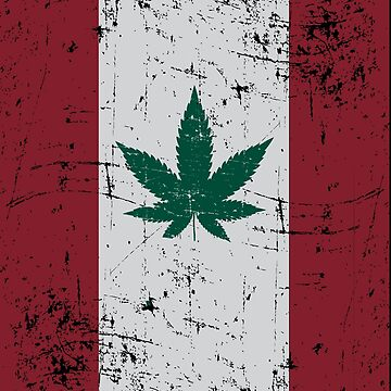 Cannabis Flag Canada by TheFlying6