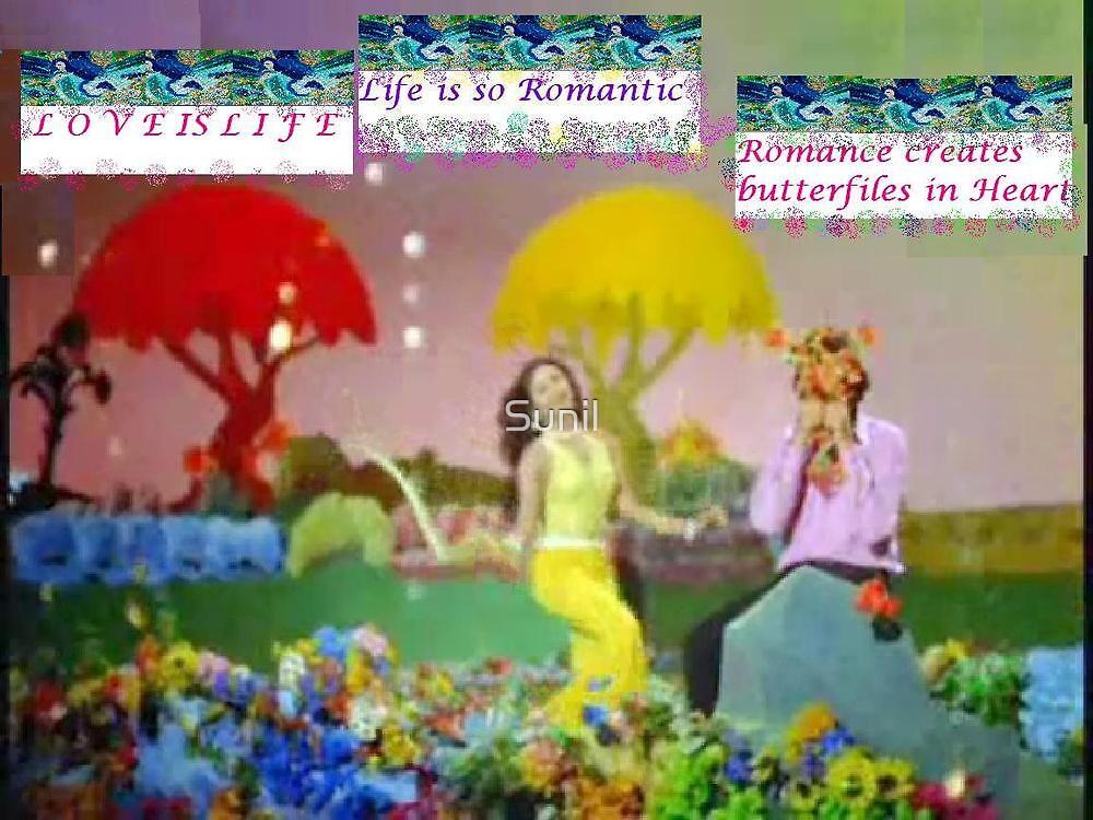 Romance & Butterflies by Sunil