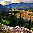 Leadville valley by Nancy Richard