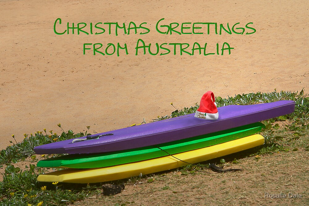 Christmas in Australia by Rosalie Dale