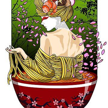 Geisha Ramen by drixalvarez