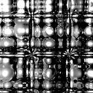 Submerged Spheres (B&W) by Chris Bigelow