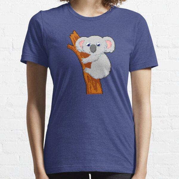Koala | Arte de píxeles de 8 bits Camiseta esencial