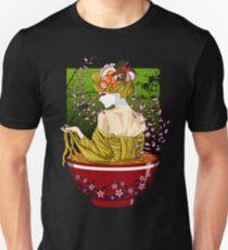 Camiseta ajustada Geisha ramen