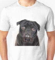 Black Pug Unisex T-Shirt
