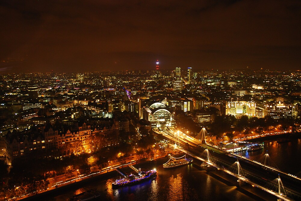 London skyline 2009 by stephen denton