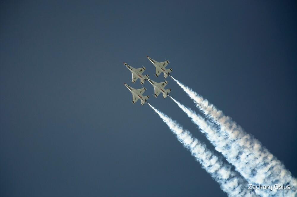 Thunderbirds 2 by Zachary Golus