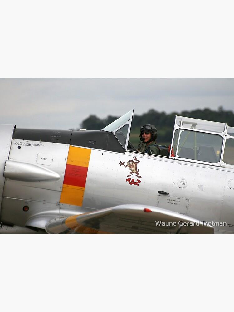 T-6 Harvard Pilot by redmoondragon
