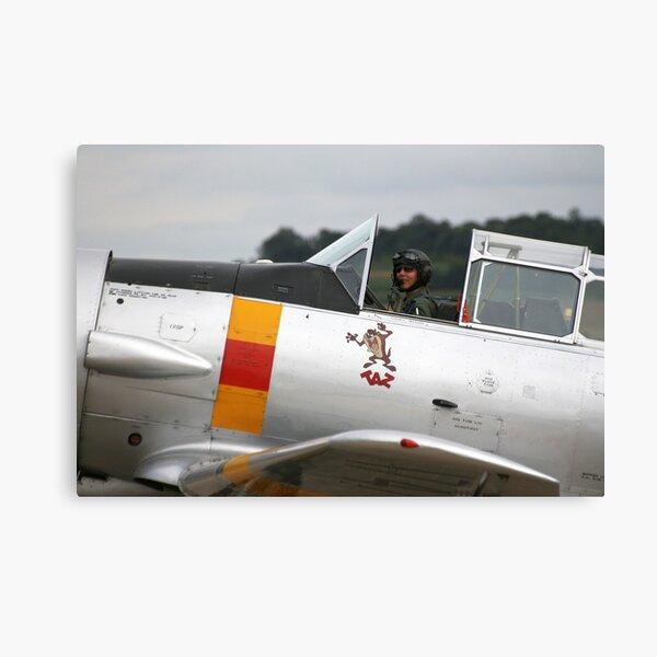T-6 Harvard Pilot Canvas Print