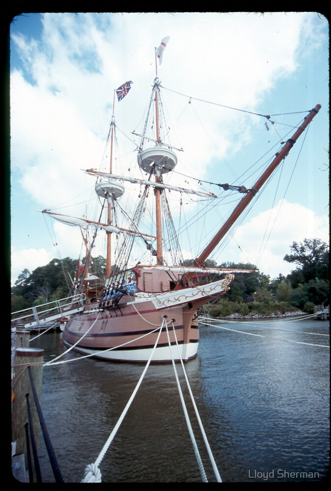 jamestown settment liveing history by Lloyd Sherman