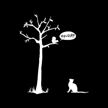 Cat vs Squirrel by CCCDesign