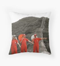 Sweet Snacks in China Throw Pillow
