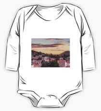 Sunset over Nimborio One Piece - Long Sleeve