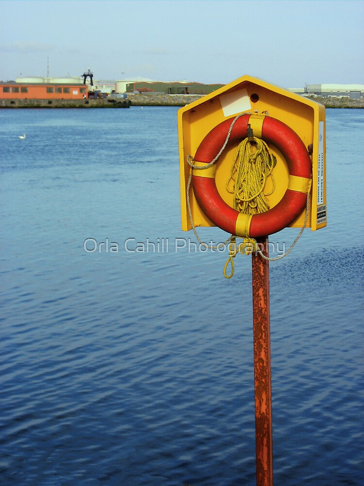 Life Buoy by Orla Cahill Photography