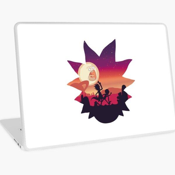 Rick and Morty Run! Laptop Skin