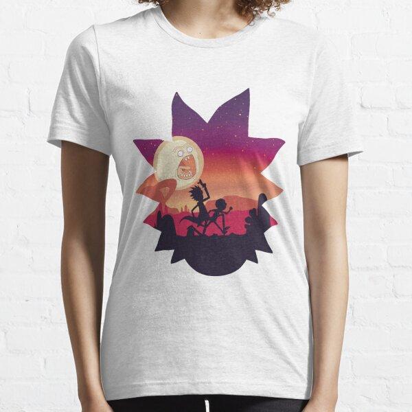 Rick y Morty Run! Camiseta esencial