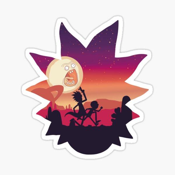 Rick and Morty Run! Sticker