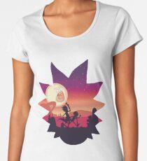 Rick and Morty Run! Women's Premium T-Shirt