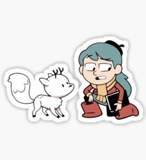 Hilda and Twig Sticker