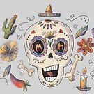 Dia De Muertos by Gold Target