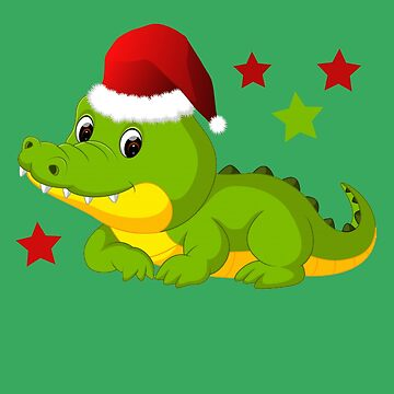 Cute Santa Gator by AYmanee