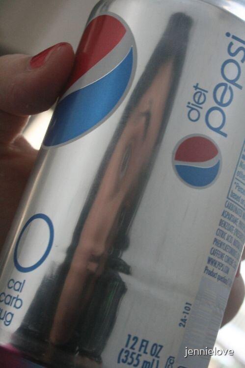 Self Portrait Pepsi Form  by jennielove