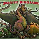 Jurassic Dinosaurs by Kevin Middleton