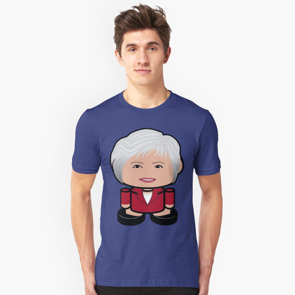 Great May POLITICO'BOT Toy Robot Unisex T-Shirt Front