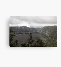 Vast lava field. Metal Print