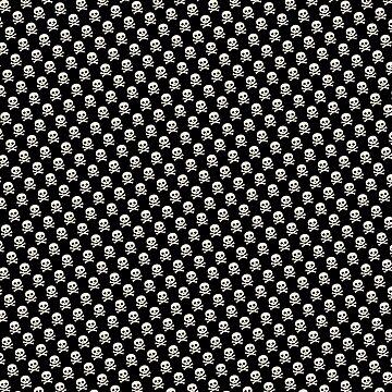 Skull N Bones Pattern by spookydooky
