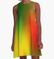 Rasta Splash A-Line Dress