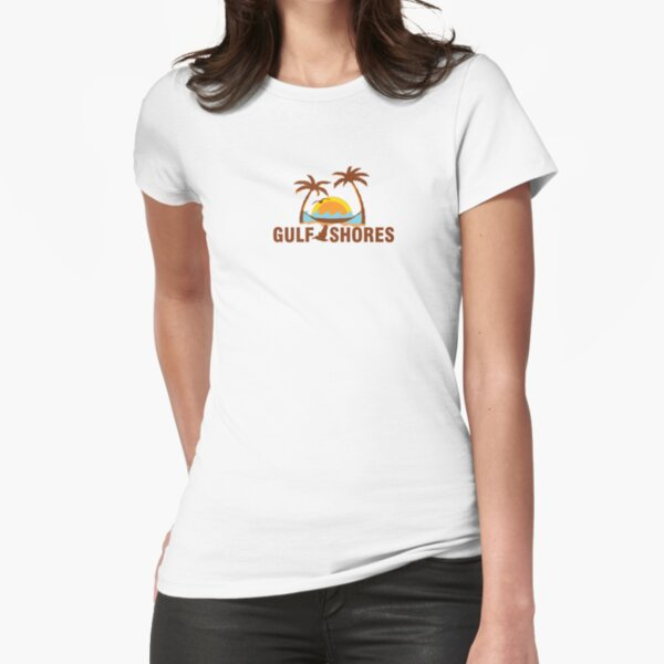 Gulf Shores - Alabama Fitted T-Shirt