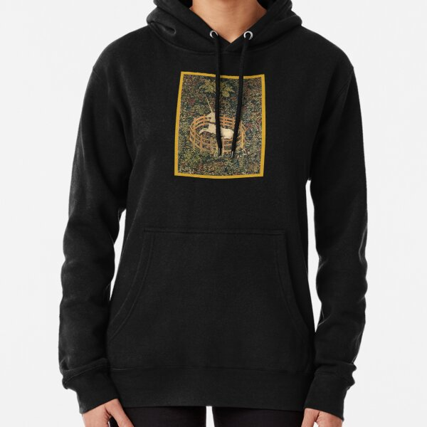 UNICORN in Captivity Tapestry Pullover Hoodie
