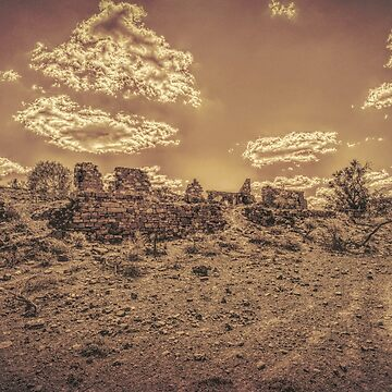 Lonely Ruins by DVJPhotography