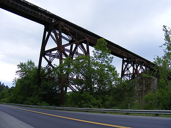 Railway fly-over near Clairmont NH by JBTHEMILKER