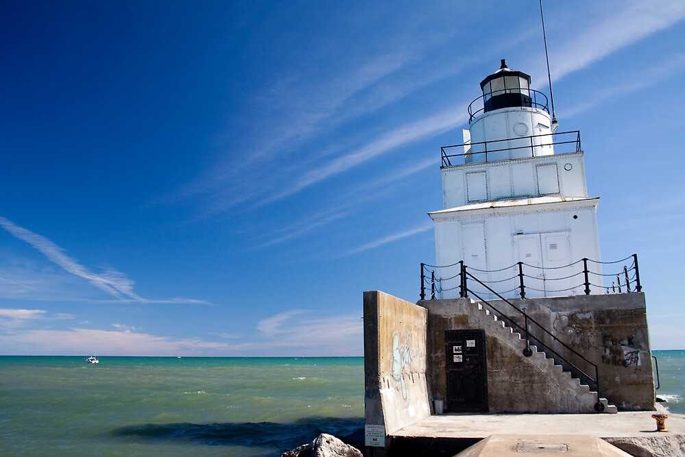Manitowoc WI Lighthouse by Mike Smith