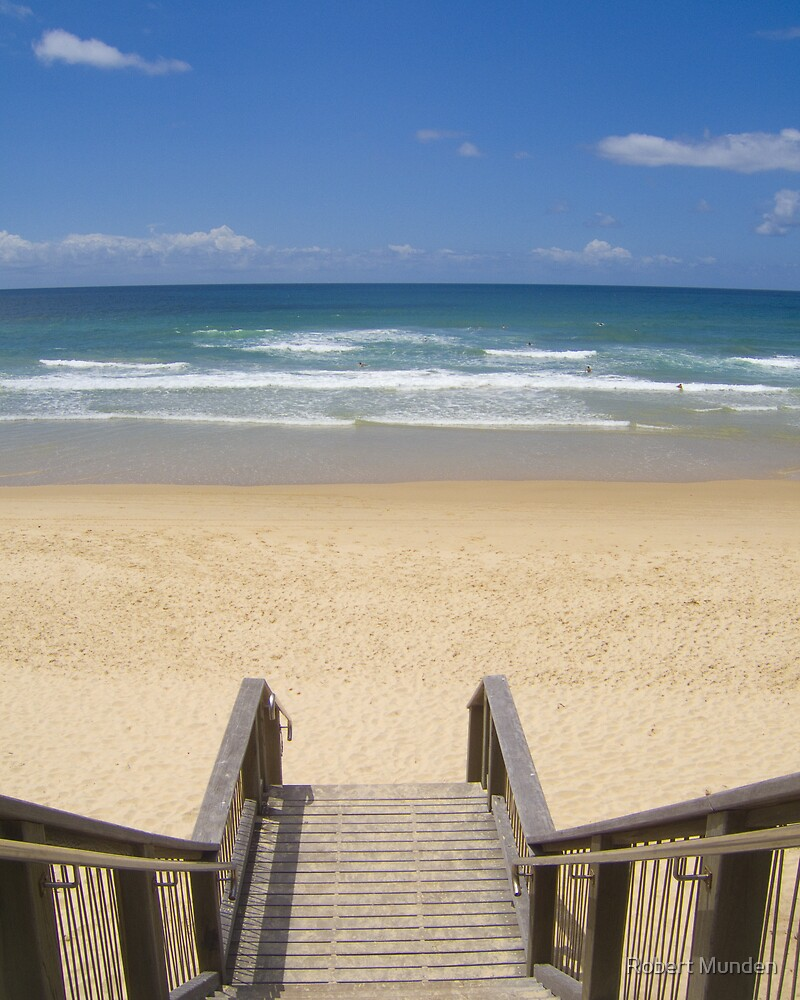 beach access by Robert Munden