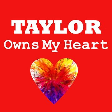Taylor Heart Love Tshirt Sweet Gum Candy Lover by jetset201